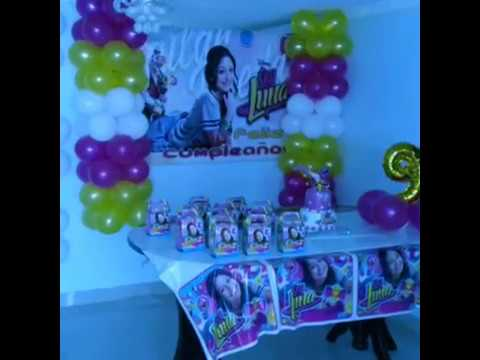 Decoraci n soy luna youtube - Sol y luna decoracion ...