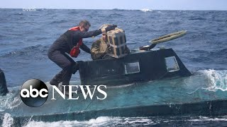 Coast Guard busts submarine carrying 12,000 pounds of cocaine l ABC News