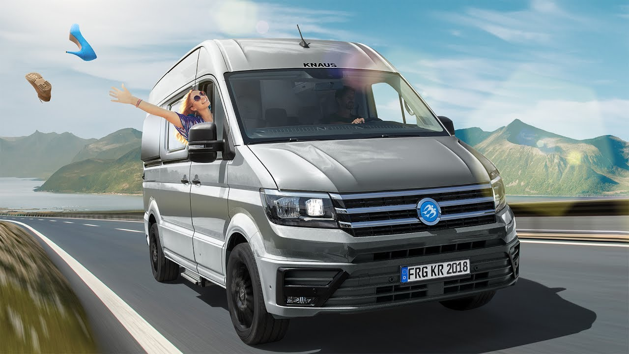 boxdrive the new knaus cuv vw crafter youtube. Black Bedroom Furniture Sets. Home Design Ideas