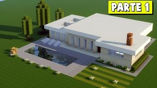 Minecraft Tutorial: Casa Moderna Grande #331 (PARTE 1) ‹ Many ›