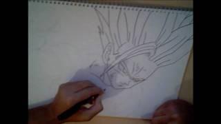 How to draw Gohan ssj2