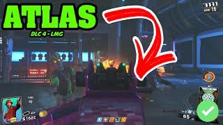 *NEW* Atlas LMG DLC 4 Weapon REVIEW! - Call of Duty Infinite Warfare Zombies DLC 4