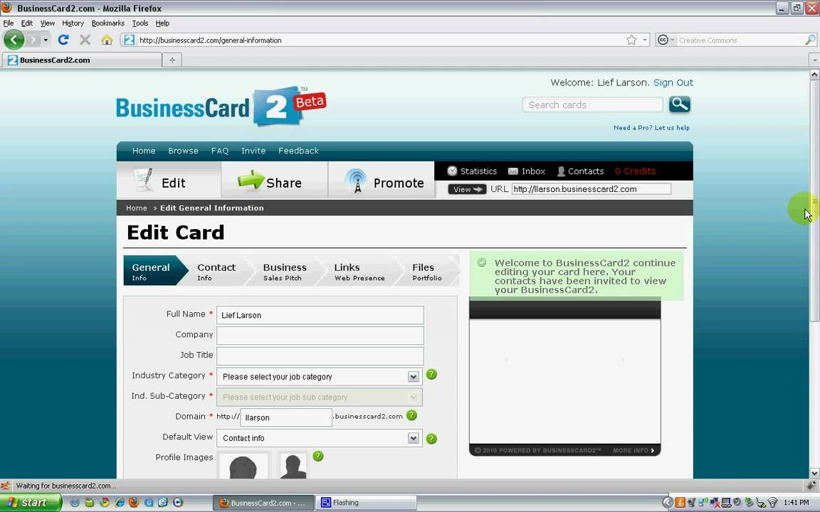 How to create your portable digital business card with how to create your portable digital business card with businesscard2 magicingreecefo Image collections
