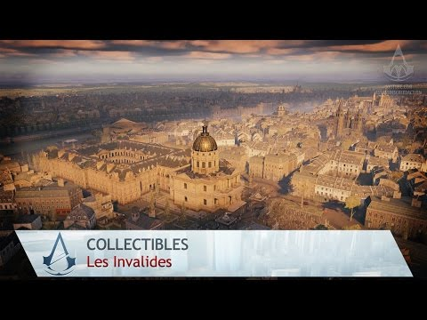 Assassin's Creed: Unity - All Collectibles - Les Invalides