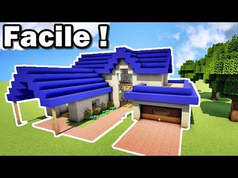 Comment faire une belle maison facilement sur MINECRAFT ? TUTORIEL !! :)
