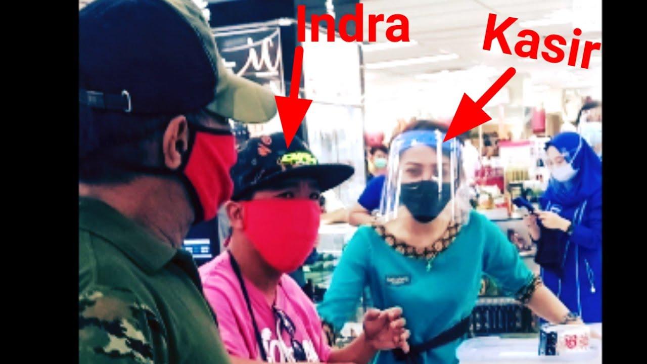 Viral ! Kejadian Mengejutkan Preman Pinokalan (Adik Indra Dunggio) Saat Belanja di Golden Manado