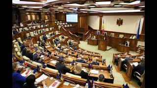 Şedinţa Parlamentului Republicii Moldova 12.11.2019