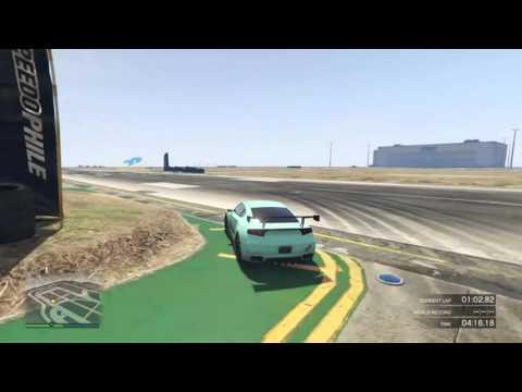 GTA 5 PS4 - LS Airport Raceway Long | 1:32.660