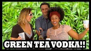 Why Would You Drink... Sweet Green Tea Vodka? - Food Feeder
