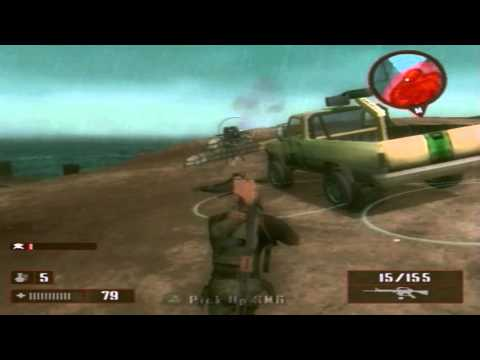 MERCENARIES 2 PS2 MISSION 6  GET JET PILOTE