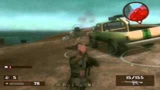 MERCENARIES 2 PS2 MISSION 6  GET JET PILOTE