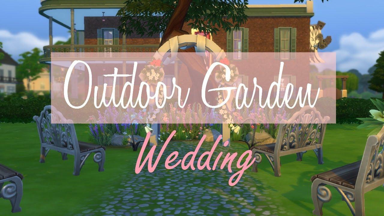 Outdoor Garden Wedding - YouTube