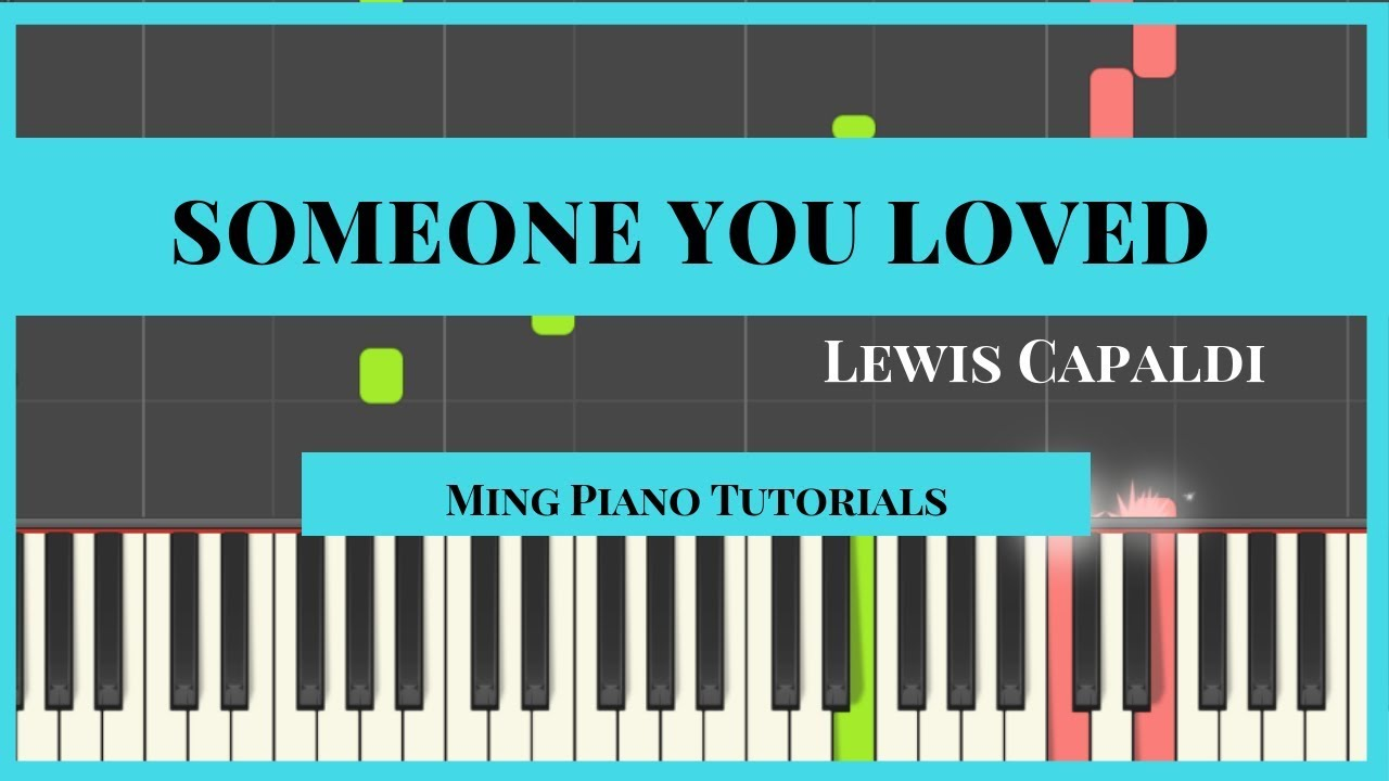 Someone You Loved - Lewis Capaldi Piano Cover Tutorial (Midi Sheets) image