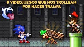 8 Videojuegos que nos Humillan y Trollean por Hacer Trampa - Pepe el Mago