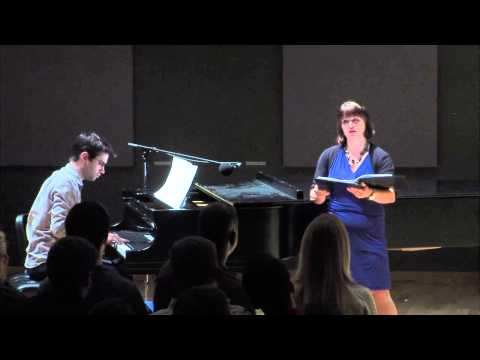 """Wharf Under Mountain"" for voice and piano composed by Nicole DeMaio"