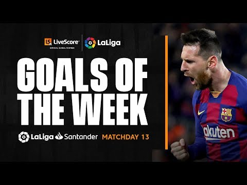 Goals of the Week: Messi magic on MD13