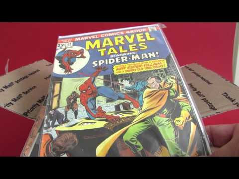 Comic Book Hunt Haul Unboxing Part 1, Great Free Find