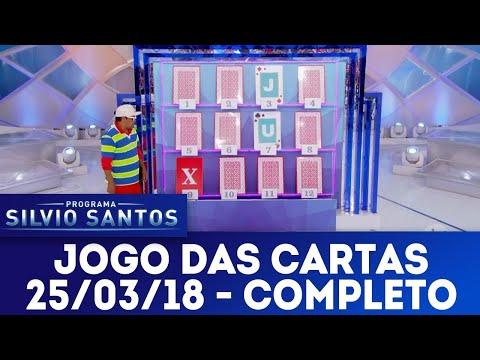 Jogo das Cartas - Completo | Programa Silvio Santos (25/03/18)