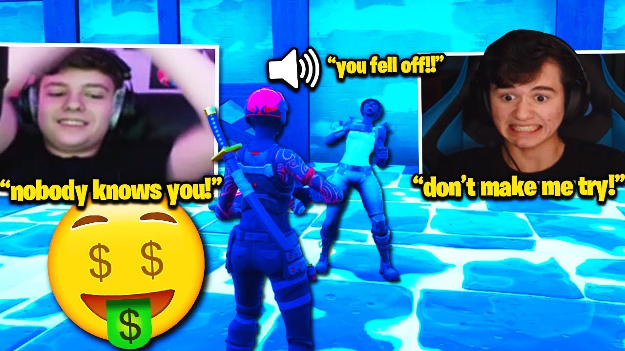 BUGHA & CLIX GO *FULL TOXIC* in $100 BOX FIGHT WAGER! (Fortnite)