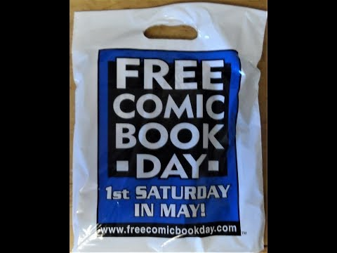 Free Comic Book Day 2018 Pick Up's