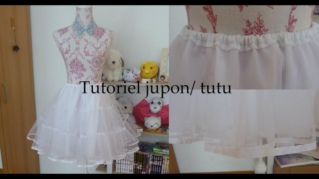 Populaire Tutoriel jupon lolita/ tutu DIY | momomakiblog - YouTube JR82