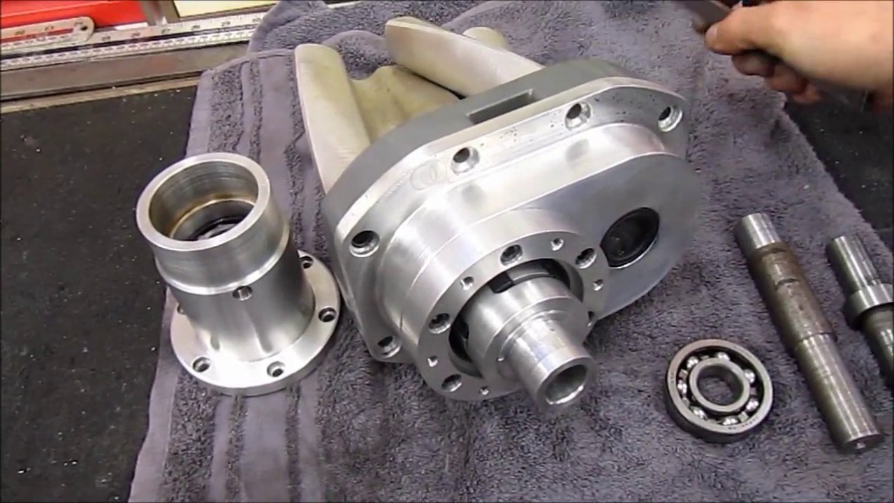 In Jeff's Shed - Modding an Eaton M90 Supercharger
