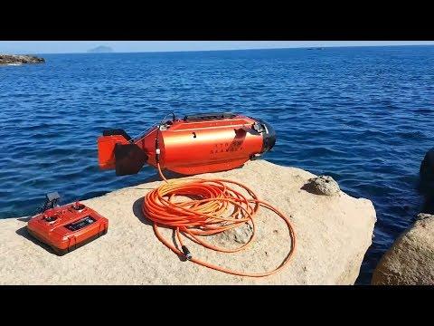 TTRobotix  Oceanmaster -  Underwater Submarine Exploration in the Water
