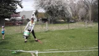 Kaikoura Beach Hop 2016 Keg throwing 4