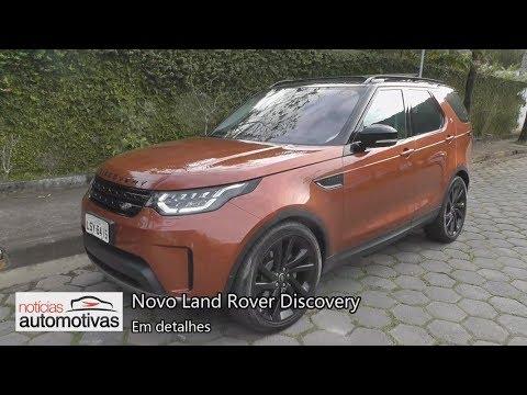 Novo Land Rover Discovery 2018 - Detalhes - NoticiasAutomotivas.com.br