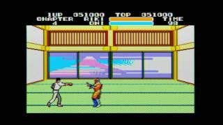 Black Belt (Sega Master System) - All Boss Fights + Game Ending