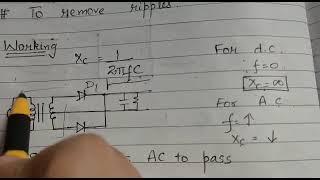 Class 12 Capacitor filter series part-2