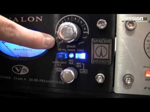 Musikmesse 2012: Avalon Design V5