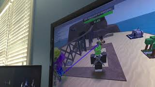 Killing the void in tower battles-western triumph-roblox-tower battles ft IDK/gamer sans