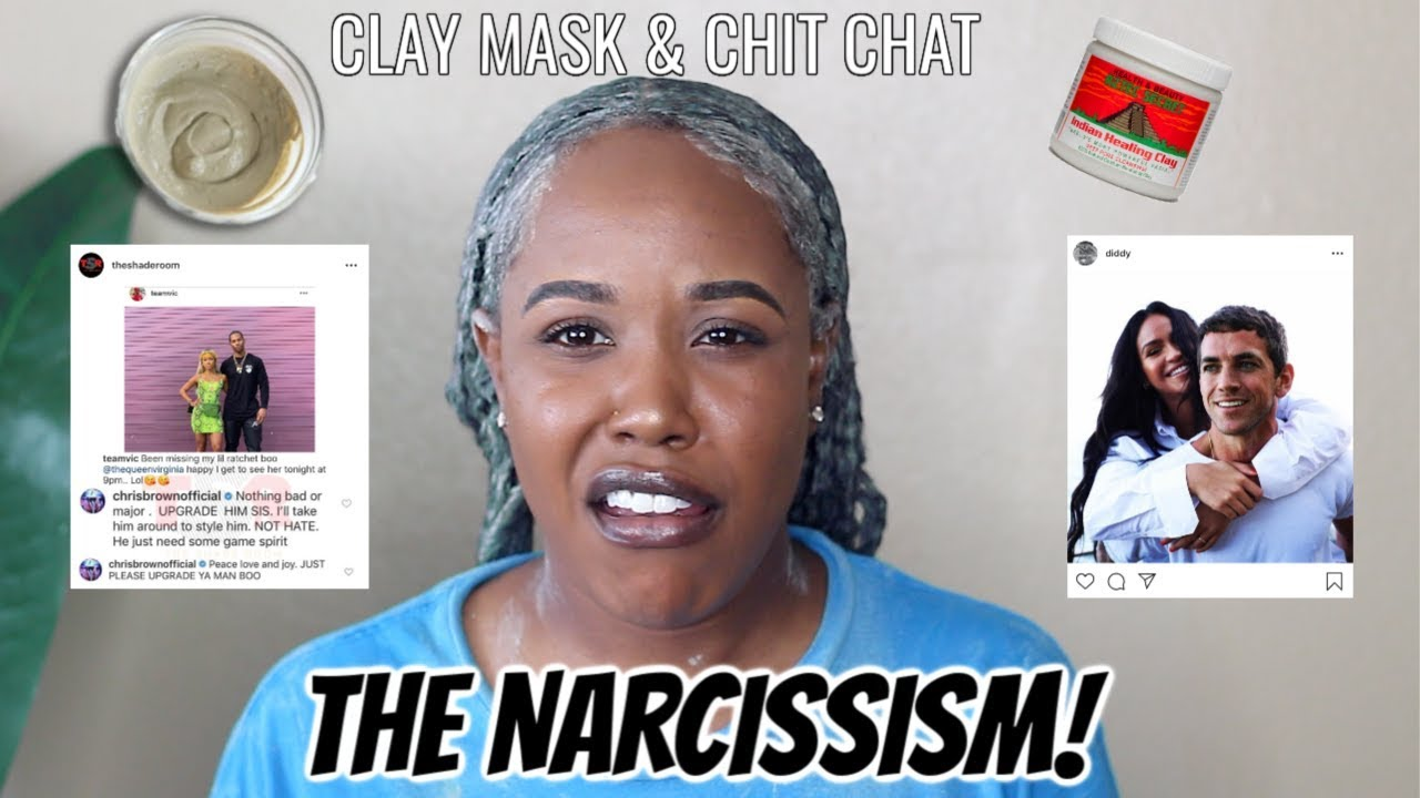 AZTEC CLAY MASK ON MY NATURAL HAIR + CHIT CHAT