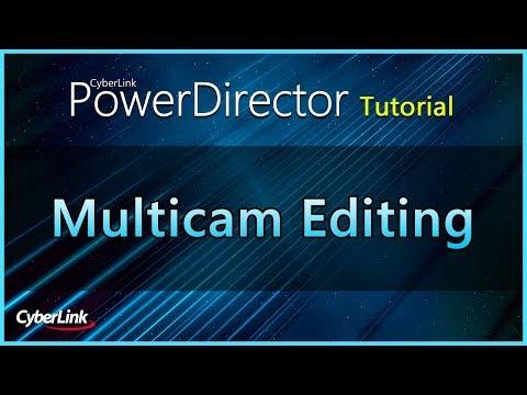 MultiCam Editing   CyberLink PowerDirector Tutorial