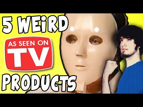 5 Ridiculously WEIRD As Seen on TV Products! - PBG