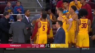 Men's Basketball: USC 89, Washington State 71 - Highlights 12/31/17