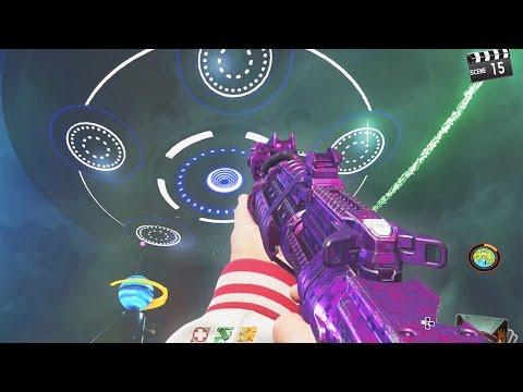 INFINITE WARFARE ZOMBIES - MAIN EASTER EGG UFO BOSS GAMEPLAY ATTEMPT! (ZOMBIES IN SPACELAND)