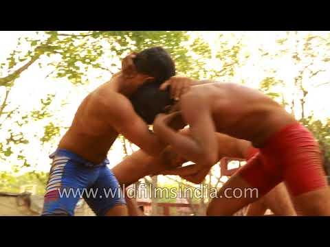 The Ancient Art of Kushti in India