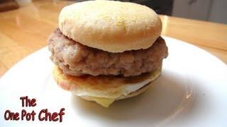 Home Made Sausage And Egg Mcmuffins - Mcdonalds Recipe