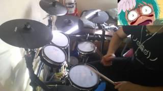 Bleach OP 5 - Drum Cover Full [Rolling Star - Yui]