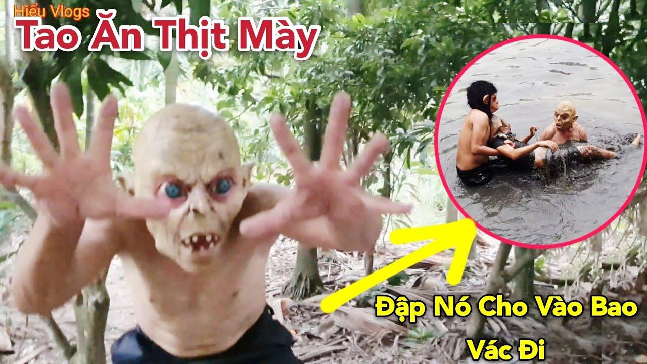 Liều Mạng Chiến Đấu Tay Đôi Với Kẻ Biến Thái Ăn Thịt Cá Sống | khỉ Đột Xuất Hiện | Hiếu Vlogs