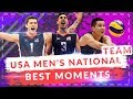 USA MEN'S NATIONAL VOLLEYBALL TEAM | US | BEST MOMENTS | VOLLEYBALL ACTIONS FIVB 2017 | Highlights
