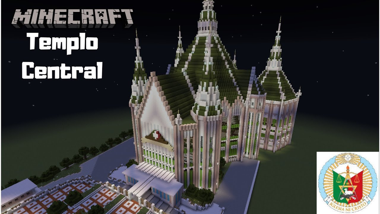 Minecraft Templo Central Official Video Youtube