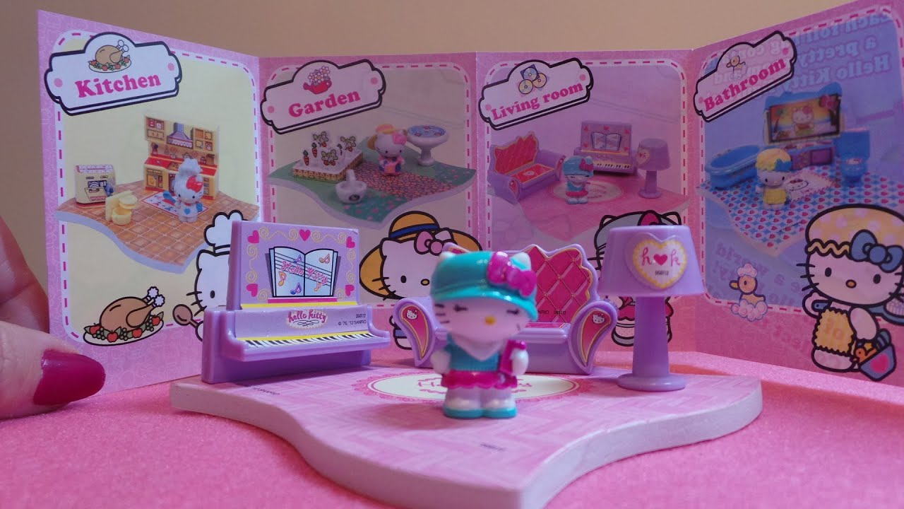Hello Kitty Home Sweet Home Surprise Toy Opening