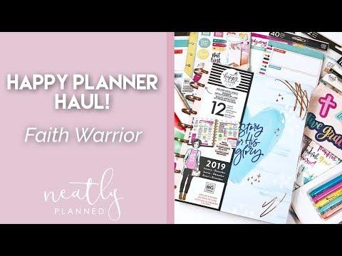 Faith Warrior | Happy Planner Girl Collection Haul