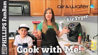 COOK WITH ME | AIR FRIED TURKEY SLIDERS with HAWAIIAN ROLLS | AVALON BAY 500SS AIR FRYER