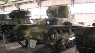 видео экскурсия в танковый музей в кубинке