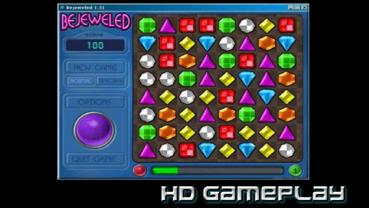 Bejeweled Deluxe Gameplay Youtube