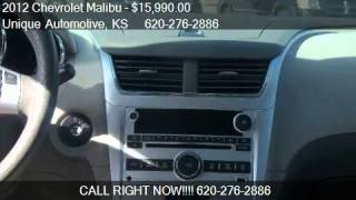 2012 Chevrolet Malibu LT W/1LT - for sale in Garden City, KS